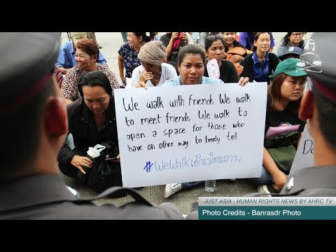 AHRC TV: Thai activists charged for walking and other stories in JUST ASIA, Episode 206