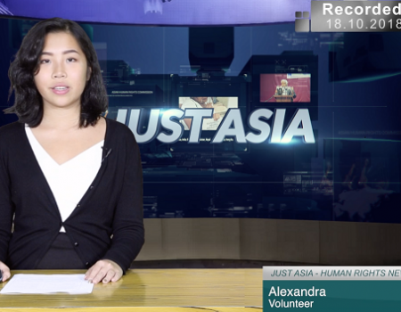 AHRC TV: Indonesian corruption watchdog arrests Bekasi Regent and other stories in JUST ASIA, Episode 238