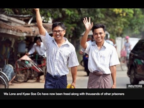 AHRC TV: Burma frees Reuters' journalists and other stories in JUST ASIA, Episode 257