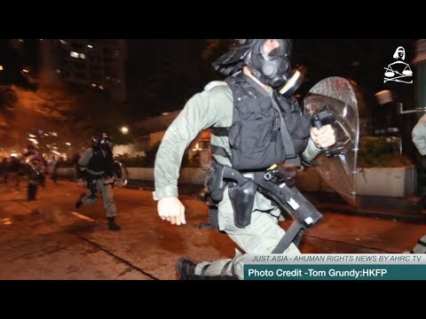 AHRC TV: UN urges 'restraint' as Hong Kong police get more violent and other stories in JUST ASIA, Episode 263